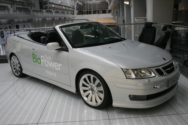 先進如SAAB,對於綠能車發展也是不遺餘力。