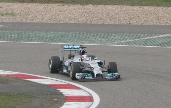 Lewis Hamilton幾乎是全場獨走