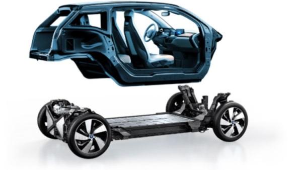 BMW i3底盤架構