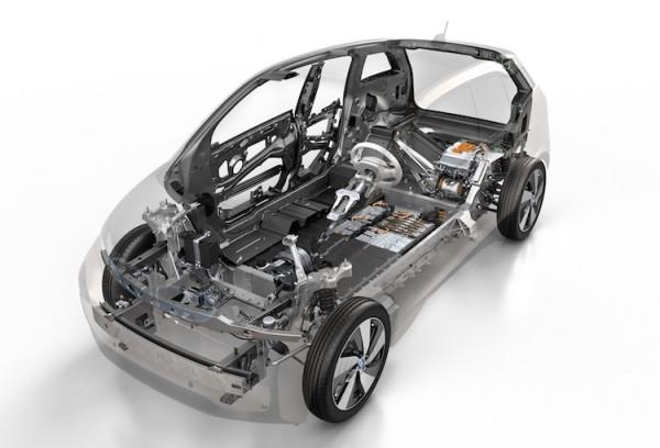 具有碳纖維材質車體的BMW i3