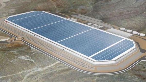 即將在2017年落成並進行電池生產的特斯拉超級電池工廠(Gigafactory)